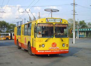 Схема движения общественного транспорта в дни репетиции юбилея города.